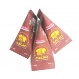 Скраб для лица с какао и сахаром PUREDERM Cacao Black Sugar Facial Scrub 20 гр
