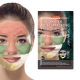 Комбинированная мульти-маска для жирной кожи лица Purederm Galaxy 3X Multi-Masking Program For Oily Skin