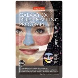 Комбинированная мульти-маска для сухой кожи лица Purederm Galaxy 3X Multi-Masking Program For Dry Skin