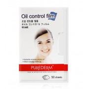 Матирующие салфетки для лица PUREDERM Oil Control Film 50 шт