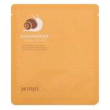 Гидрогелевая маска для лица с золотом и муцином улитки Petitfee Gold & Snail Hydrogel Mask Pack