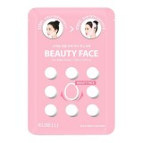 Маска для подтяжки контура лица Rubelli Beauty Face Hot Mask Sheet 20 мл