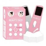 Набор масок для коррекции контуров лица Rubelli Beauty Face Hot Mask Sheet 7*20 мл + бандаж