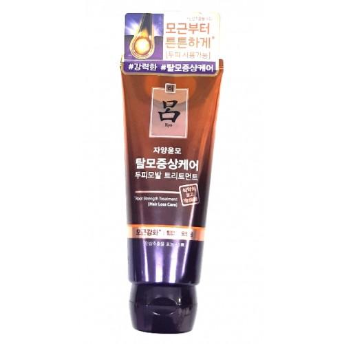 Маска против выпадения с женьшенем и маслом камелии Ryo Jayang Anti-Hair Loss Treatment 200 мл