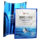 Маска с экстрактом ласточкиного гнезда SNP Bird's Nest aqua ampoule mask 25 мл