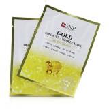 Маска тканевая с золотом и коллагеном SNP Gold Collagen Ampoule Mask 25 мл