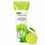 Очищающая пенка с экстрактом лайма Secret Skin Lime Fizzy Cleansing Foam 120 мл