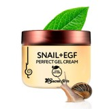 Гель-крем для лица с муцином улитки и EGF Secret Skin Snail+EGF Perfect Gel Cream 50 гр