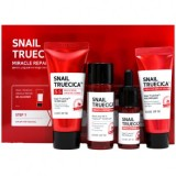 Набор c муцином черной улитки Some By Mi Snail Truecica Miracle Repair Starter kit
