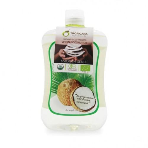 Кокосовое масло первого холодного отжима Tropicana Virgin Coconut Oil 1000 мл