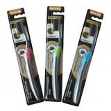 Зубная щетка антибактериальная  Bamboo Charcoal Toothbrush Ultra Soft & Slim Nano Oral Care