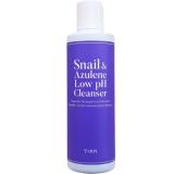 Мягкий гель для умывания с муцином улитки и азуленом TIAM Snail & Azulene Cleanser 200 мл