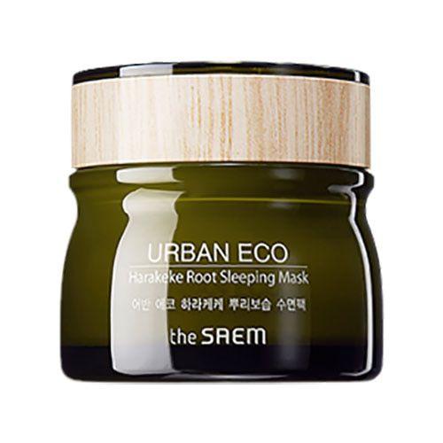Ночная маска с экстрактом корня новозеландского льна THE SAEM Urban Eco Harakeke Root Sleeping Mask 80 мл