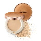 Пудра компактная SPF27 PA++ THE SAEM Eco Soul Perfect Cover Pact SPF27 PA++ 11 гр