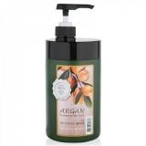 Восстанавливающая маска с маслом арганы WELCOS CONFUME Argan Treatment Hair Pack 1000 гр