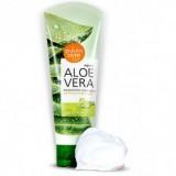 Увлажняющая пенка с алоэ вера WELCOS Aloe Vera Moisture Real Cleansing Foam 150 гр