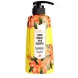 Шампунь с аргановым маслом для поврежденных волос WELCOS AROUND ME Damage Argan Hair Shampoo 500 мл