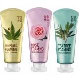Пенка для умывания WELCOS IOU Foaming Facial Cleanser WELCOS IOU Foaming Facial Cleanser 120 мл