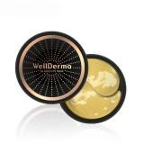 Омолаживающие патчи с германием и золотом WellDerma Gold Eye Mask 60 шт