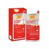 Питательная тканевая маска для лица с коллагеном Wellderma Collagen Nutrition Weekly Smart Mask 25 мл