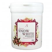 Альгинатная маска осветляющая Anskin Premium Snow White Modeling Mask  банка 240 гр