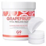Очищающие пилинг-пэды с экстрактом грейпфрута G9 Skin Grapefruit Vita Peeling Pad 100 шт