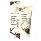 Пилинг-скатка с экстрактом черной улитки Ekel Black Snail Natural Clean Peeling Gel 180 мл