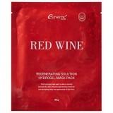 Гидрогелевая маска с экстрактом красного вина ESTHETIC HOUSE Red Wine Regenerating Solution Hydrogel Mask Pack 30 гр