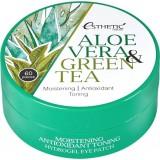 Гидрогелевые патчи для глаз с алоэ вера и зеленым чаем ESTHETIC HOUSE Aloe Vera & Green Tea Hydrogel Eye Patch 60 шт