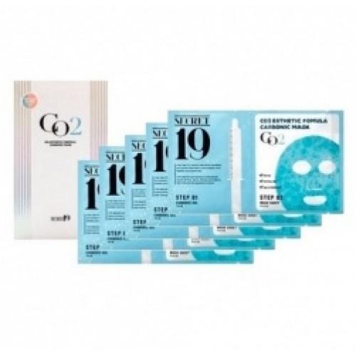 Набор для 5 процедур карбокситерапии Esthetic House Secret19 CO2 Esthetic Formula Carbonic Mask 15 мл*5 шт