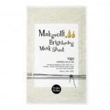Тканевая маска для лица с экстрактом рисового вина Макголли Holika Holika Makgeolli Brightening Mask Sheet 20 мл