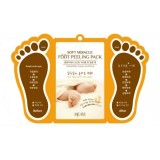 Маска-пилинг для ног Mijin MJ Care Soft Miracle Foot Peeling Pack 15 мл*2 + 1 пара носочков