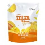 Кондиционер для белья концентрированный МИМОЗА PIGEON Regular Yellow мягкая упаковка 2,1 л