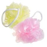 Мочалка для душа мягкая SUNG BO CLEAMY Clean & Beauty Rose Shower Ball
