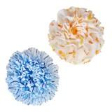 Мочалка для душа средне-жесткая (196) SUNG BO CLEAMY Clean & Beauty Flower Shower Ball